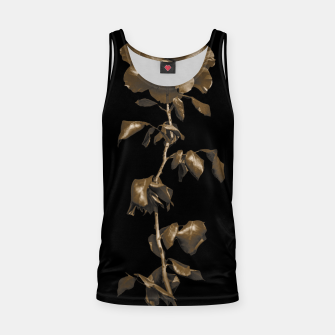 Thumbnail image of Beauty Dark Rose Poster Tank Top, Live Heroes