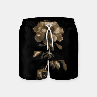 Thumbnail image of Beauty Dark Rose Poster Swim Shorts, Live Heroes
