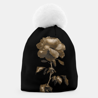 Thumbnail image of Beauty Dark Rose Poster Beanie, Live Heroes