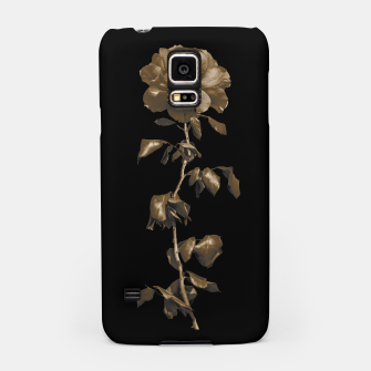 Thumbnail image of Beauty Dark Rose Poster Samsung Case, Live Heroes
