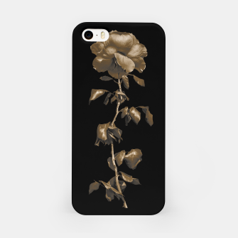 Thumbnail image of Beauty Dark Rose Poster iPhone Case, Live Heroes