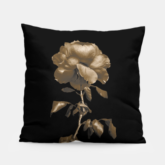 Thumbnail image of Beauty Dark Rose Poster Pillow, Live Heroes