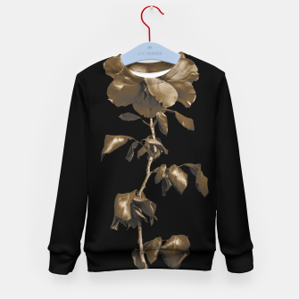 Thumbnail image of Beauty Dark Rose Poster Kid's sweater, Live Heroes