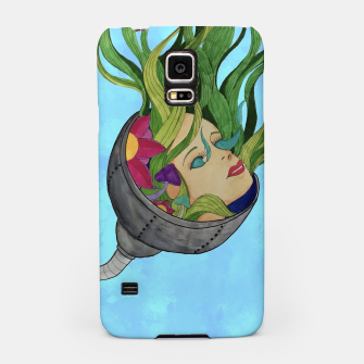 Thumbnail image of Face in the Vines Samsung Case, Live Heroes