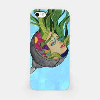 Thumbnail image of Face in the Vines iPhone Case, Live Heroes