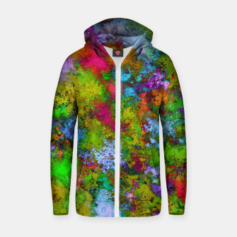 Thumbnail image of Above the tree canopy Zip up hoodie, Live Heroes