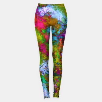 Thumbnail image of Above the tree canopy Leggings, Live Heroes