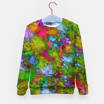 Thumbnail image of Above the tree canopy Kid's sweater, Live Heroes