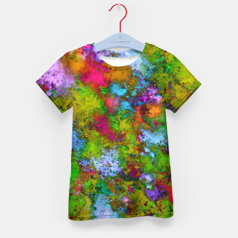 Thumbnail image of Above the tree canopy Kid's t-shirt, Live Heroes