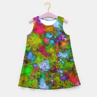 Thumbnail image of Above the tree canopy Girl's summer dress, Live Heroes