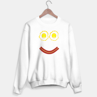 Thumbnail image of Bacon And Eggs Happy Face Sweater regular, Live Heroes