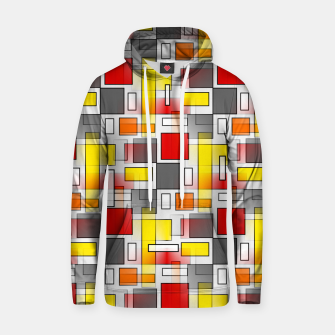 Miniatur Abstract Layers Hoodie, Live Heroes