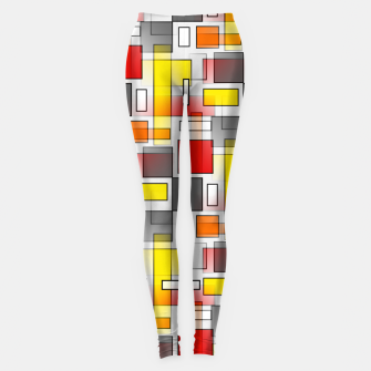 Miniatur Abstract Layers Leggings, Live Heroes