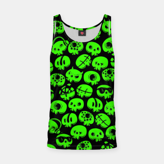 Thumbnail image of Just green skulls Tank Top, Live Heroes