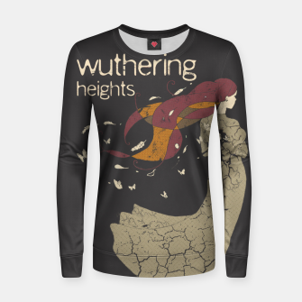 Thumbnail image of Books Collection: Wuthering Heights Sudadera para mujeres, Live Heroes