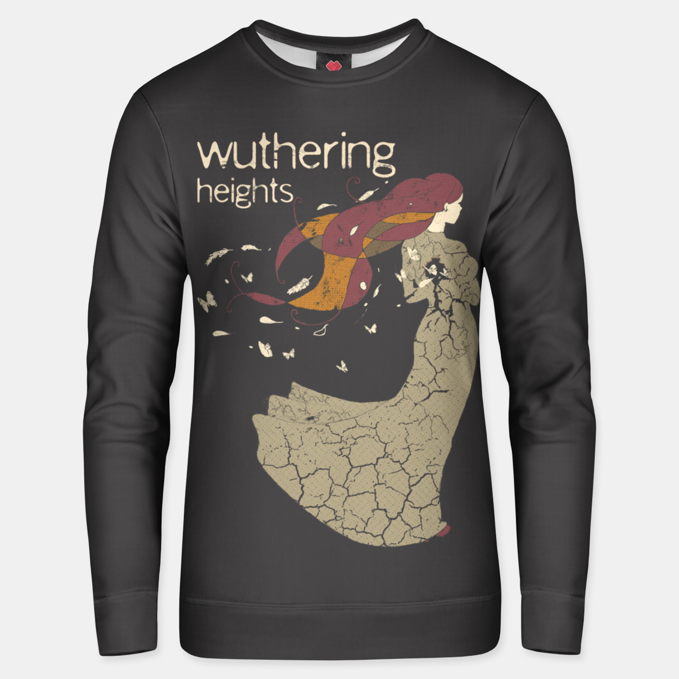 Foto Books Collection: Wuthering Heights Sudadera unisex - Live Heroes