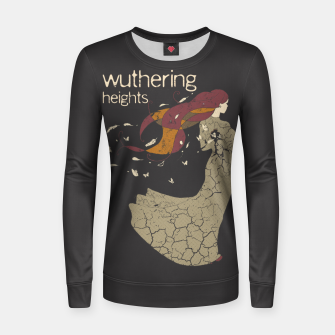 Books Collection: Wuthering Heights Sudadera para mujeres Bild der Miniatur