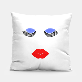 Thumbnail image of Fashion Face Pillow, Live Heroes