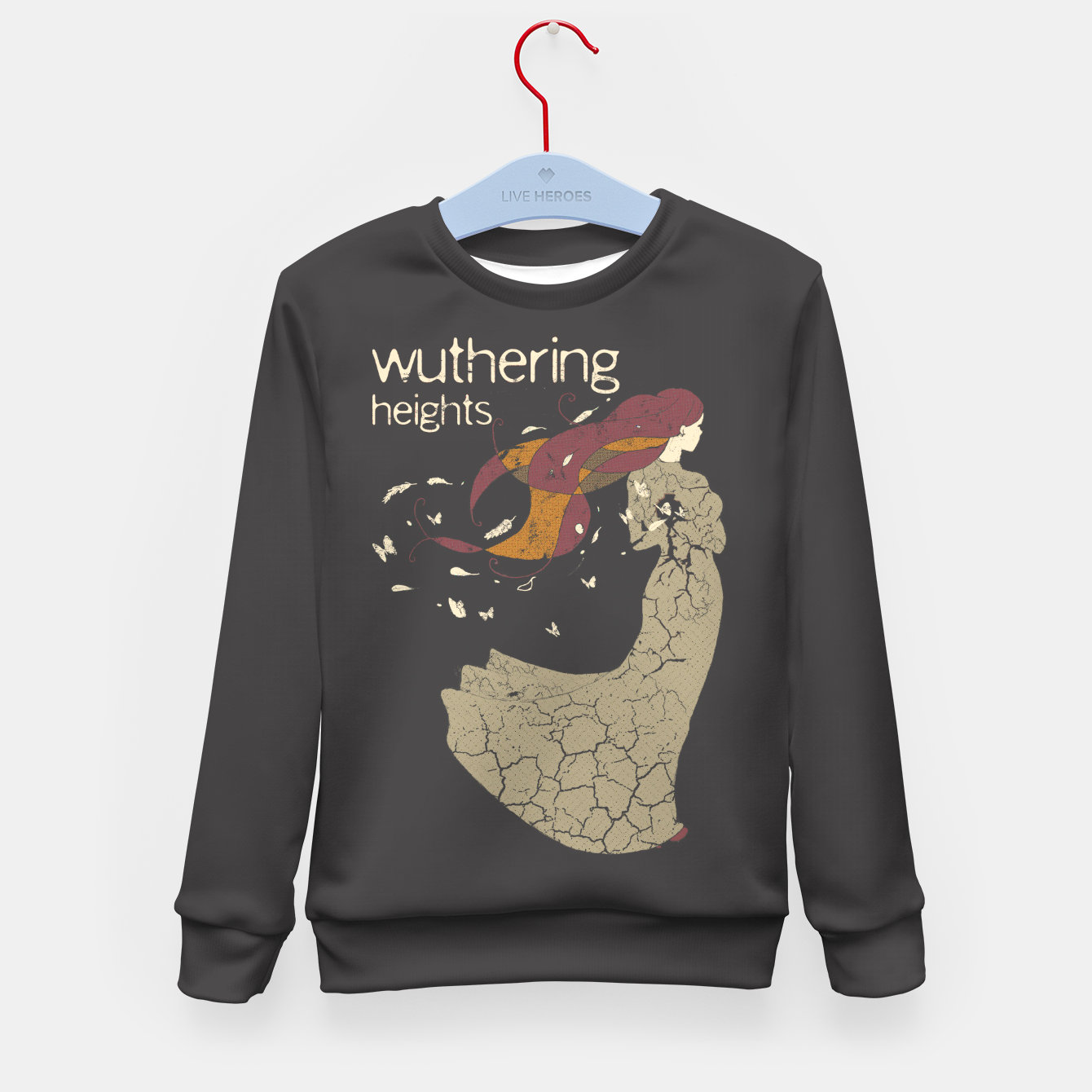 Foto Books Collection: Wuthering Heights Sudadera para niños - Live Heroes