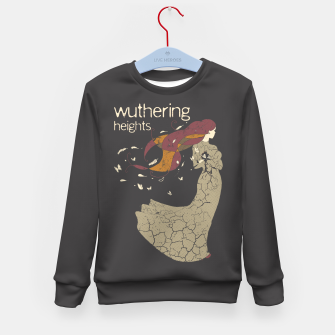 Books Collection: Wuthering Heights Sudadera para niños Bild der Miniatur