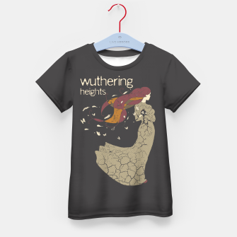 Books Collection: Wuthering Heights Camiseta para niños Bild der Miniatur