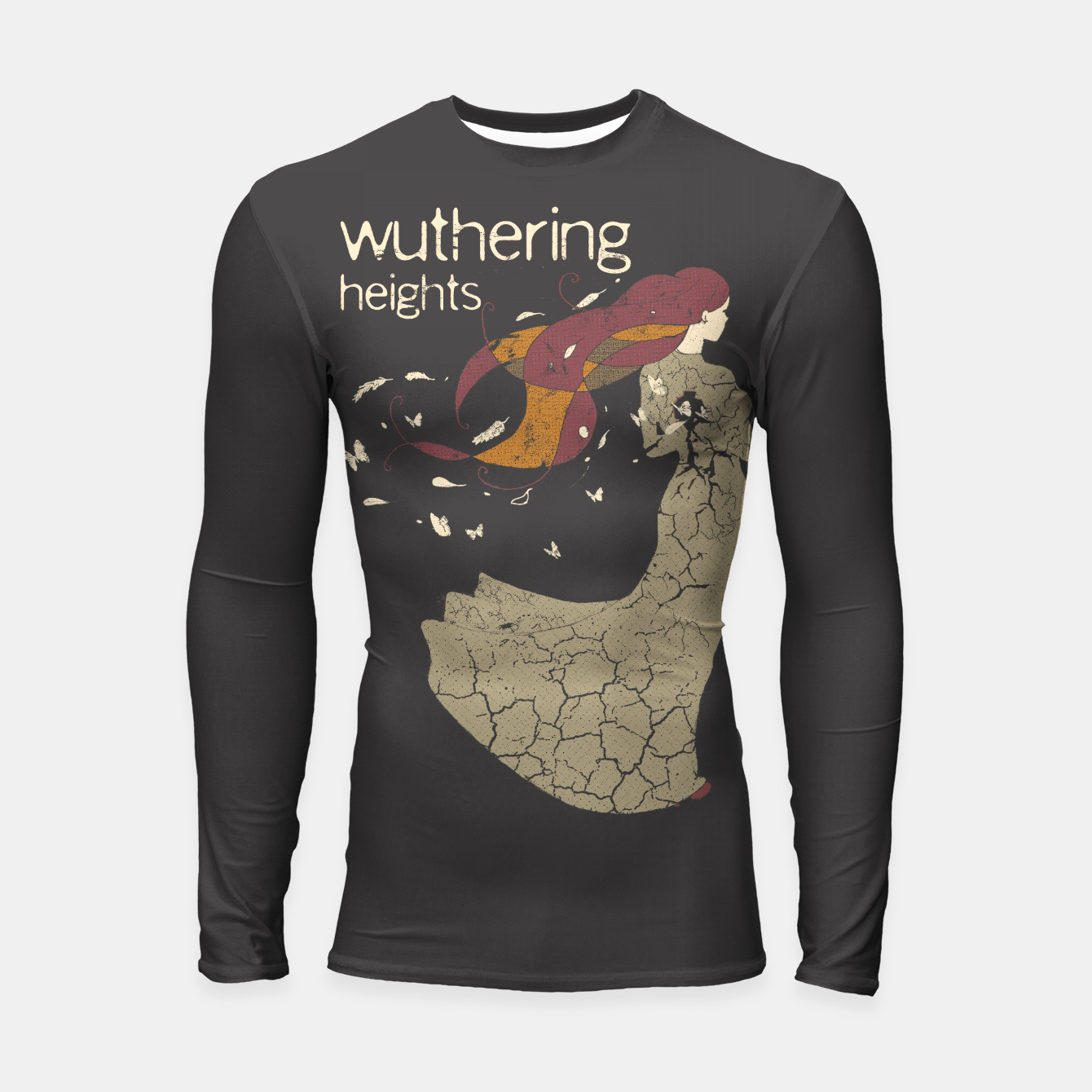 Foto Books Collection: Wuthering Heights Longsleeve rashguard - Live Heroes