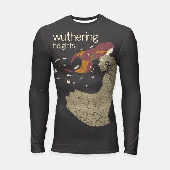 Books Collection: Wuthering Heights Longsleeve rashguard Bild der Miniatur