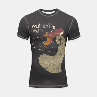 Books Collection: Wuthering Heights Shortsleeve rashguard Bild der Miniatur