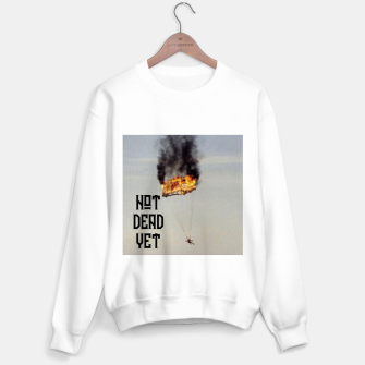 Thumbnail image of NOT DEAD YET Sweater regular, Live Heroes