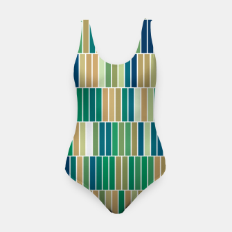 Miniature de image de Bookshelves, abstract illusrtation of vertical bars Swimsuit, Live Heroes