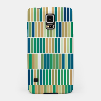 Miniature de image de Bookshelves, abstract illusrtation of vertical bars Samsung Case, Live Heroes