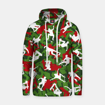 Thumbnail image of Skater Camo XMAS Hoodie, Live Heroes