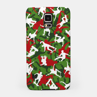 Thumbnail image of Skater Camo XMAS Samsung Case, Live Heroes