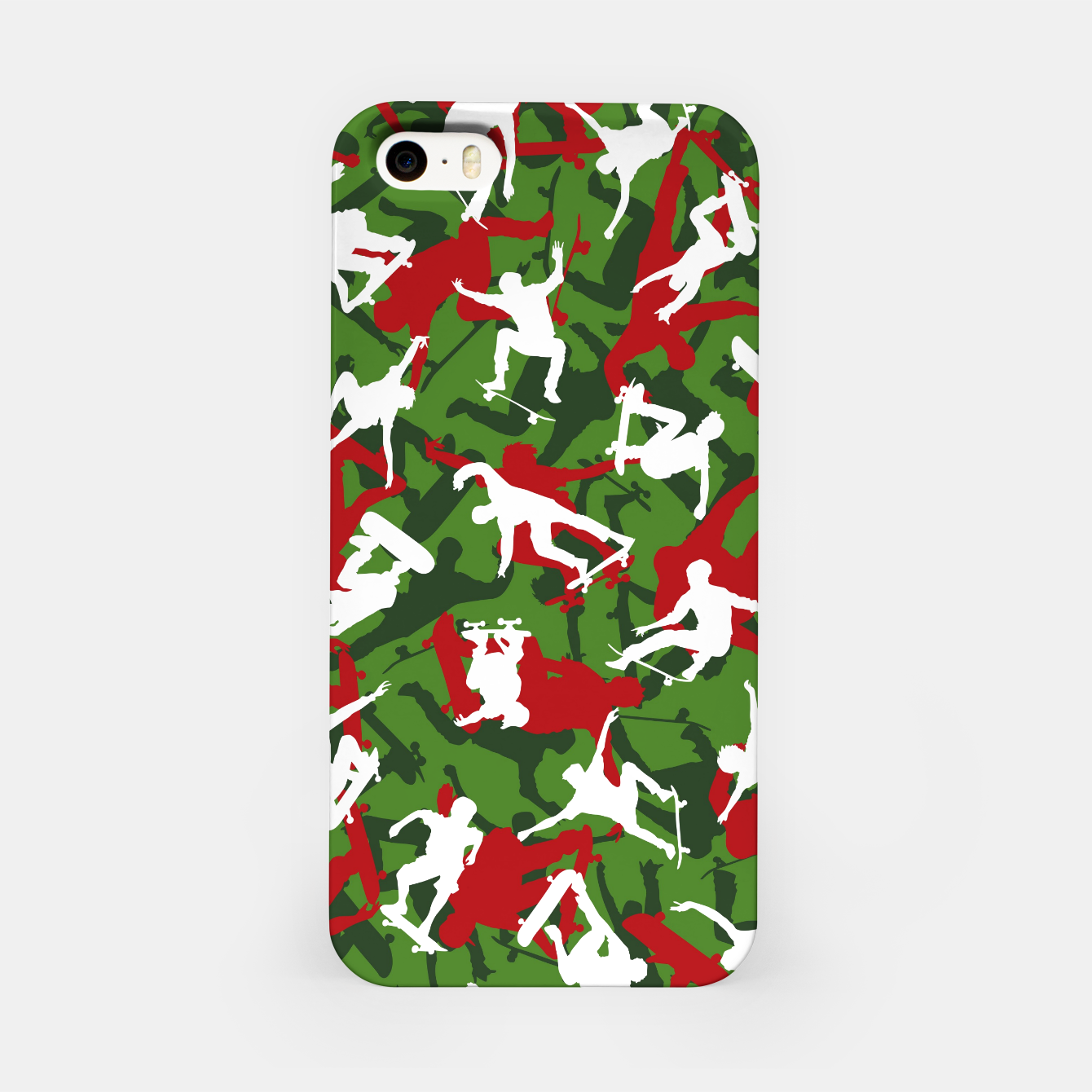 Image of Skater Camo XMAS iPhone Case - Live Heroes