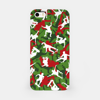 Skater Camo XMAS iPhone Case thumbnail image
