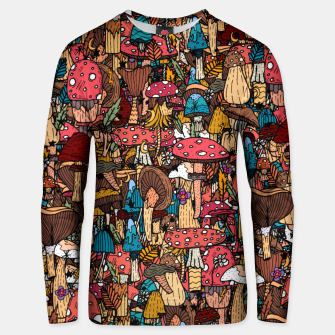 Miniature de image de Of mushrooms and autumn Unisex sweater, Live Heroes