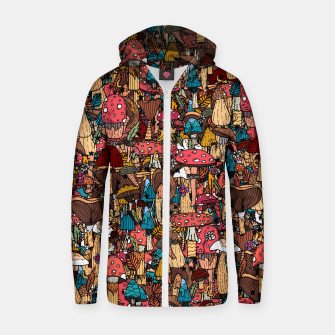 Miniature de image de Of mushrooms and autumn Zip up hoodie, Live Heroes