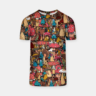 Miniature de image de Of mushrooms and autumn T-shirt, Live Heroes