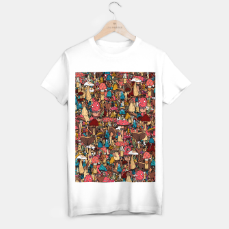 Miniature de image de Of mushrooms and autumn T-shirt regular, Live Heroes