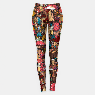 Miniature de image de Of mushrooms and autumn Leggings, Live Heroes