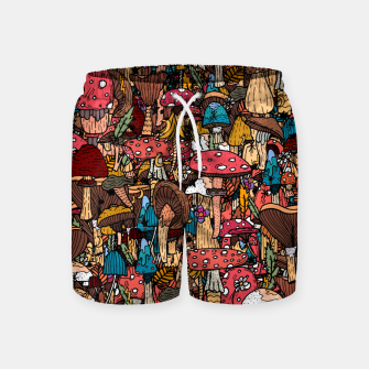 Miniature de image de Of mushrooms and autumn Swim Shorts, Live Heroes