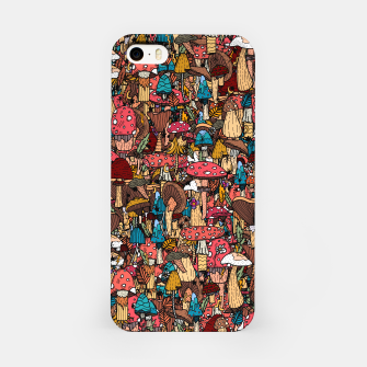 Miniature de image de Of mushrooms and autumn iPhone Case, Live Heroes