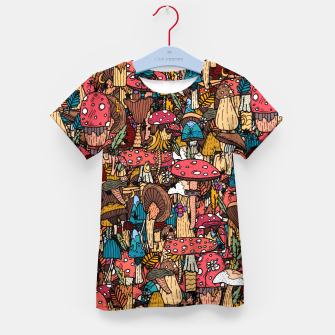 Miniature de image de Of mushrooms and autumn Kid's t-shirt, Live Heroes