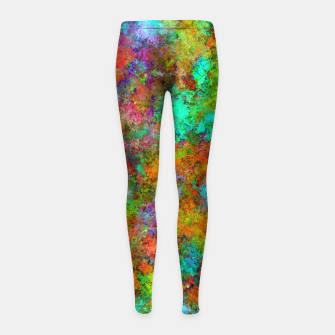 Thumbnail image of The very first day Girl's leggings, Live Heroes