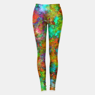 Thumbnail image of The very first day Leggings, Live Heroes