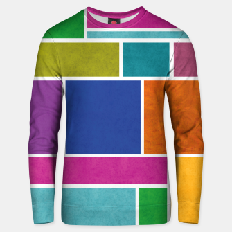 Thumbnail image of Rectangle Unisex sweater, Live Heroes