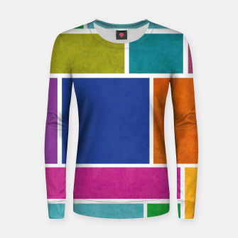 Thumbnail image of Rectangle Women sweater, Live Heroes