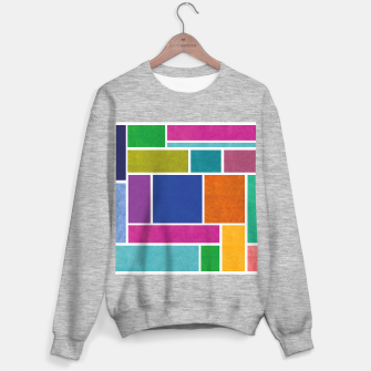 Thumbnail image of Rectangle Sweater regular, Live Heroes