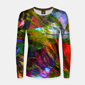 Thumbnail image of Abstraction 4 Women sweater, Live Heroes