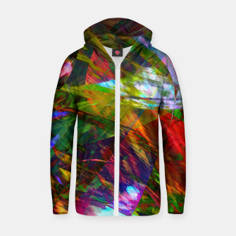 Thumbnail image of Abstraction 4 Zip up hoodie, Live Heroes